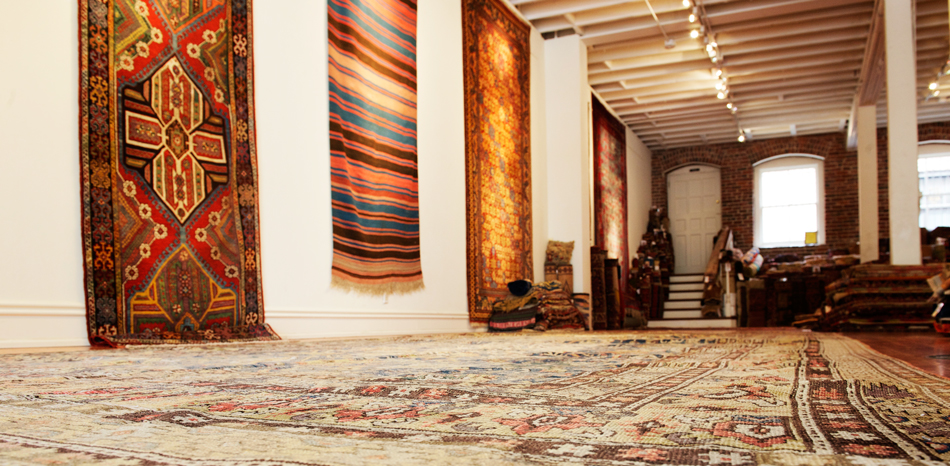 """""""Dealing in rugs comes very naturally to me, and the fact that you never stop learning — and you never know what rug is around the next corner — keeps it very exciting,"""" Pap says."""