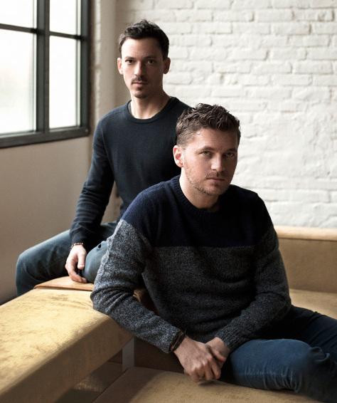 Olivier Marty and Karl Fournier of Studio KO
