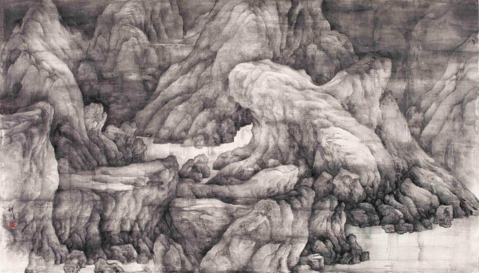 Misty Mountain, by Tai Xiangzhou, 2011