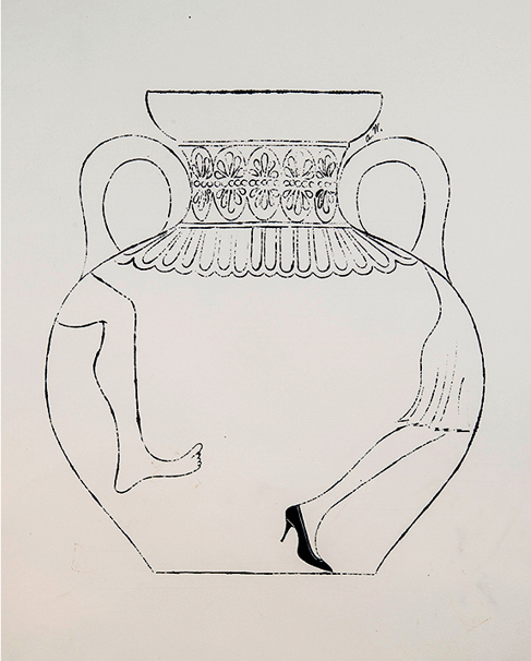 Urn With Two Legs, ca. 1958