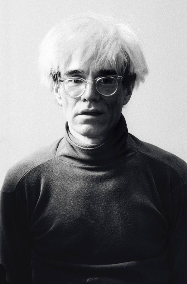 The show reveals a lesser-known side of the Pop artist, captured here in Patricia Steur's Andy Warhol, 1982, available through Amstel Gallery.