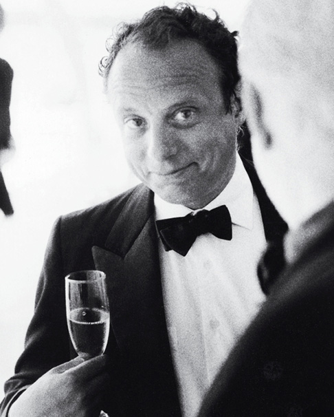 As dapper as he is discerning, Becker is captured here by another celebrated photographer, Ralph Gibson.