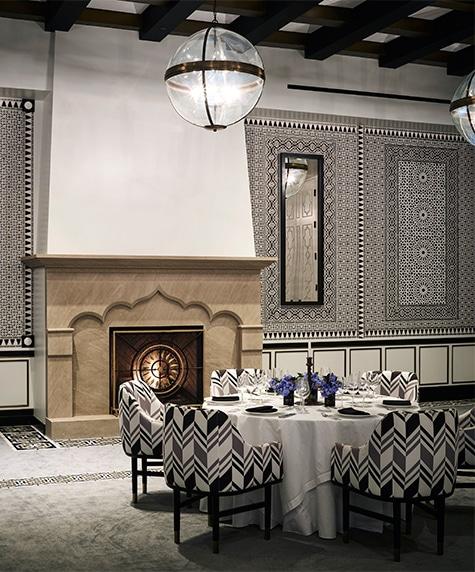 Designer Martyn Lawrence Bullard Hotel Californian Santa Barbara California ballroom