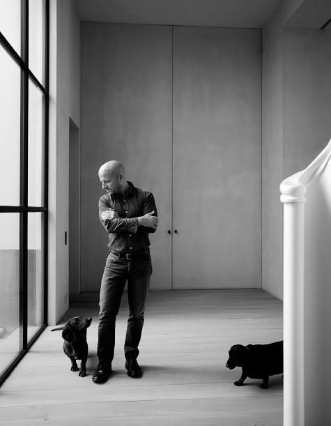 Belgian designer Vincent Van Duysen portrait Antwerp