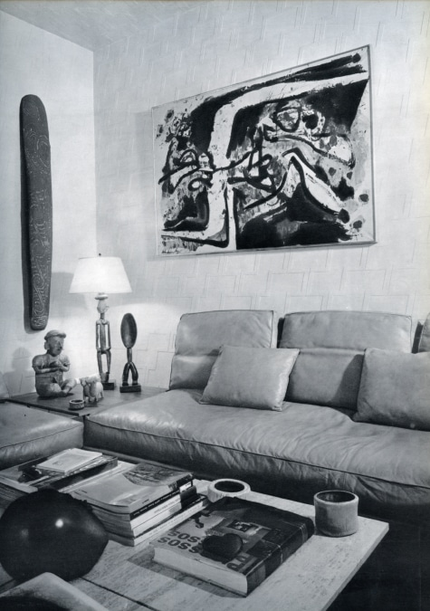 Henri Samuels Paris apartment 1963