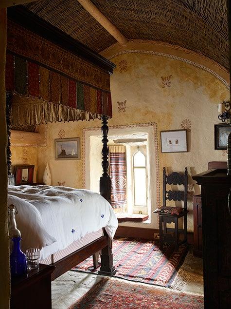 guest room in Kilcoe Castle