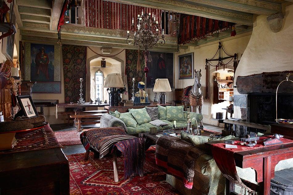 Jeremy Irons solar room Kilcoe Castle