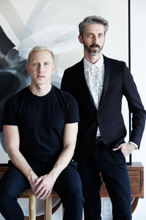 Consort Home founders Mat Sanders and Brandon Quattrone
