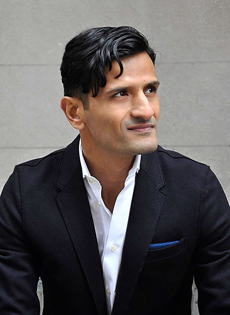 Portrait of Aamir Khandwala