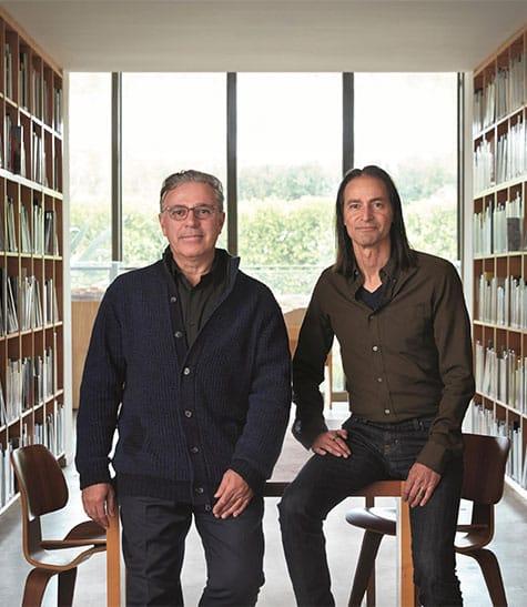 Leo Marmol and Ron Radziner of Marmol Radziner