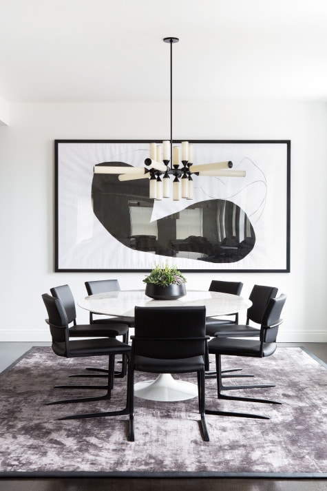 Tribeca dining room by Chango & Co.