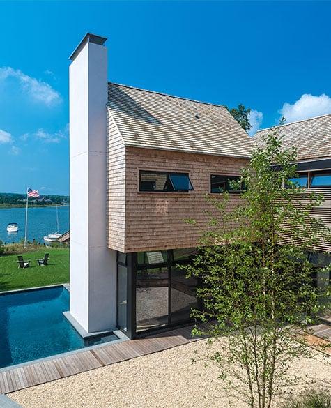 A house designed by Blaze Makoid
