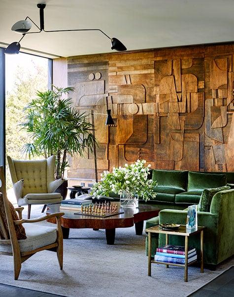 Interior design by Blaze Makoid