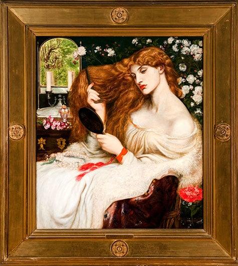 Lady Lilith, 1866-1868, by Dante Gabriel Rossetti