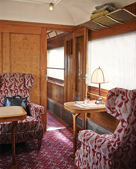 pullman car in the orient express