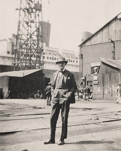 René Prou in le Havre