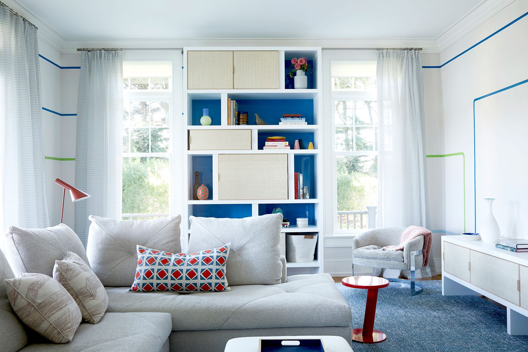 Bridgehampton family room by Pepe Lopez