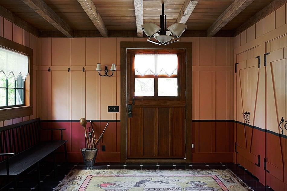 entryway by Studio Shamshiri