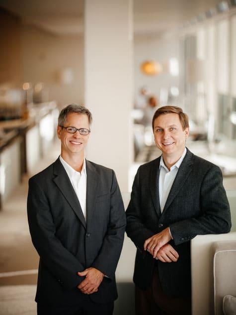 Craig Dixon and Ken Pursley