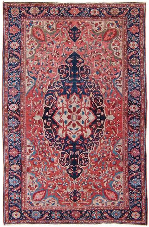 Sarouk Farahan rug, late 19th century