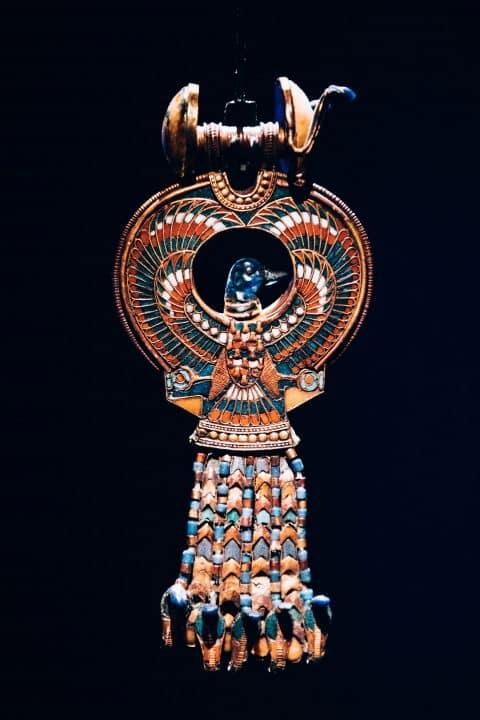King Tut jewelry