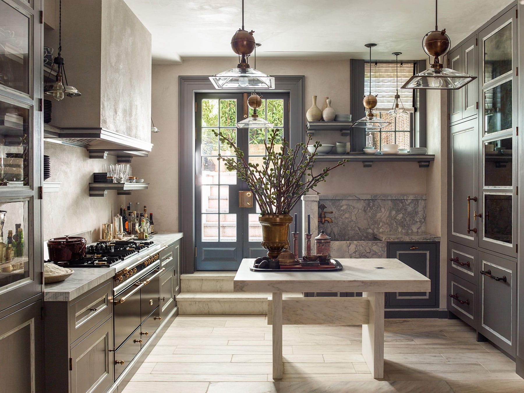kitchen by Steven Gambrel