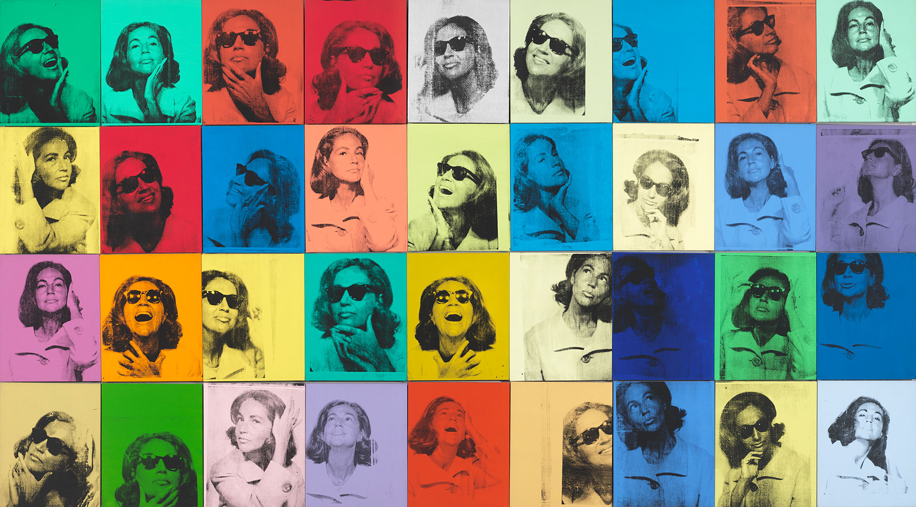 Ethel Scull 36 Times, 1963, by Andy Warhol