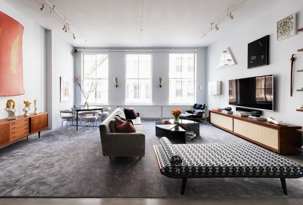 Jessica Schuster Soho living room