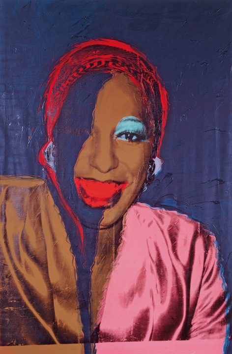Andy Warhol, Ladies and Gentlemen (Wilhelmina Ross), 1975