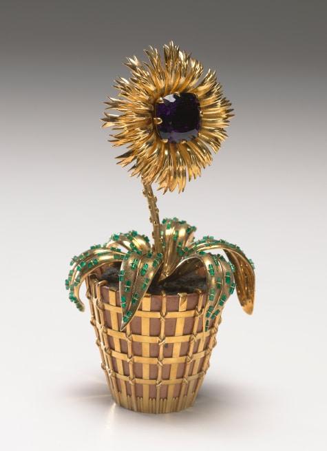 Bunny Mellon's Jean Schlumberger Flower Pot (Pot de fleurs), 1960