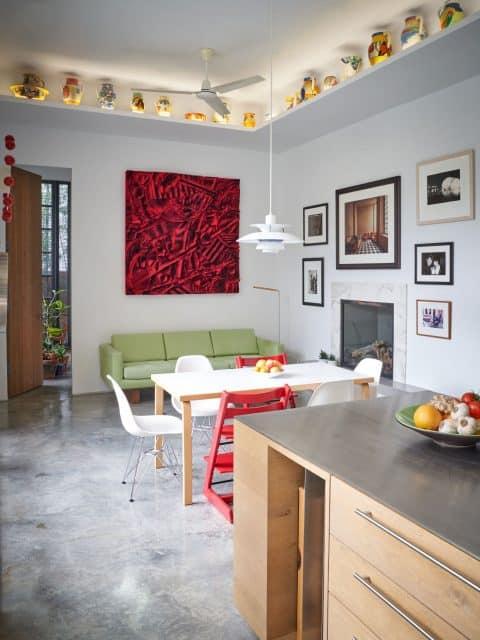 William Monaghan's kitchen