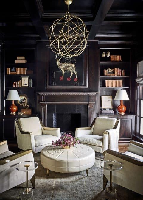 Suzanne Kasler designed living room