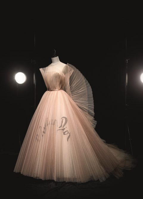 Maria Grazia Chiuri Christian Dior haute couture Spring/Summer 2018 dress