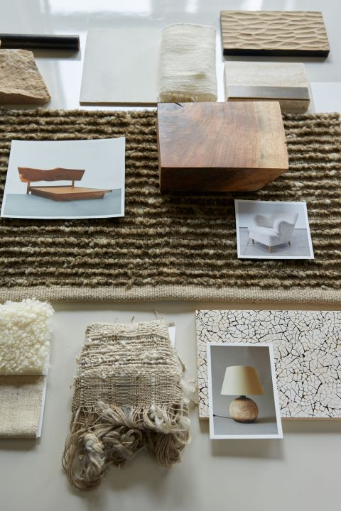 inspiration board by Clive Lonstein