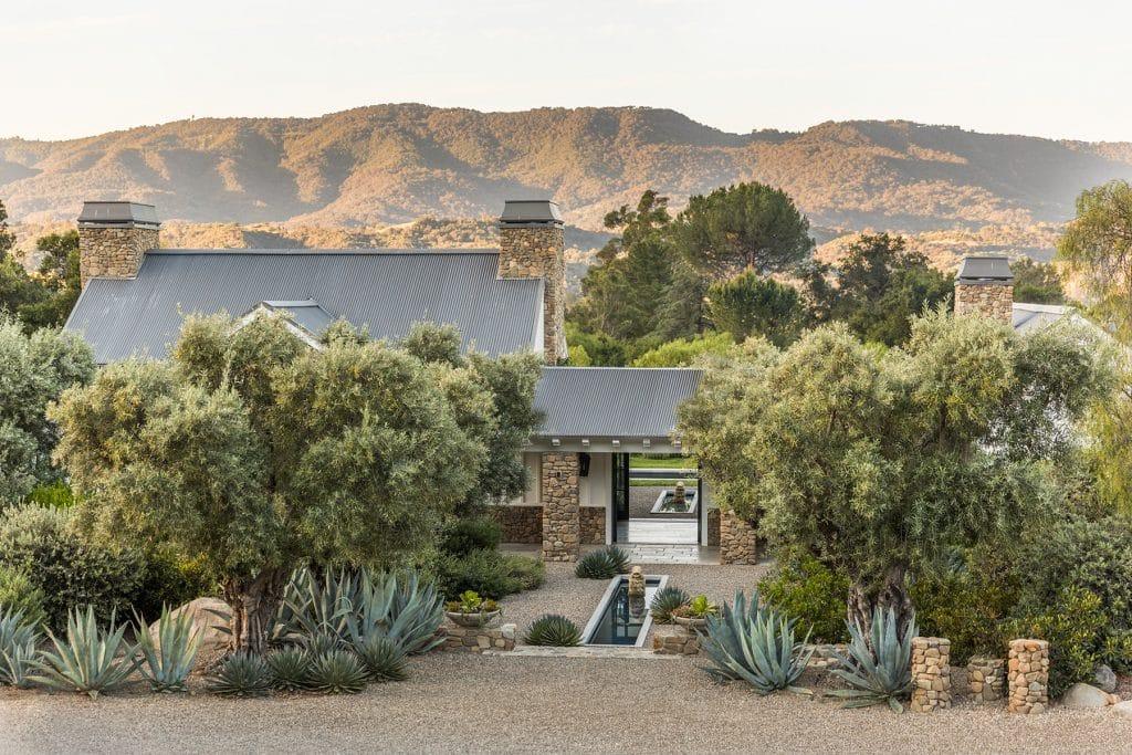 Ojai estate garden by Scott Shrader