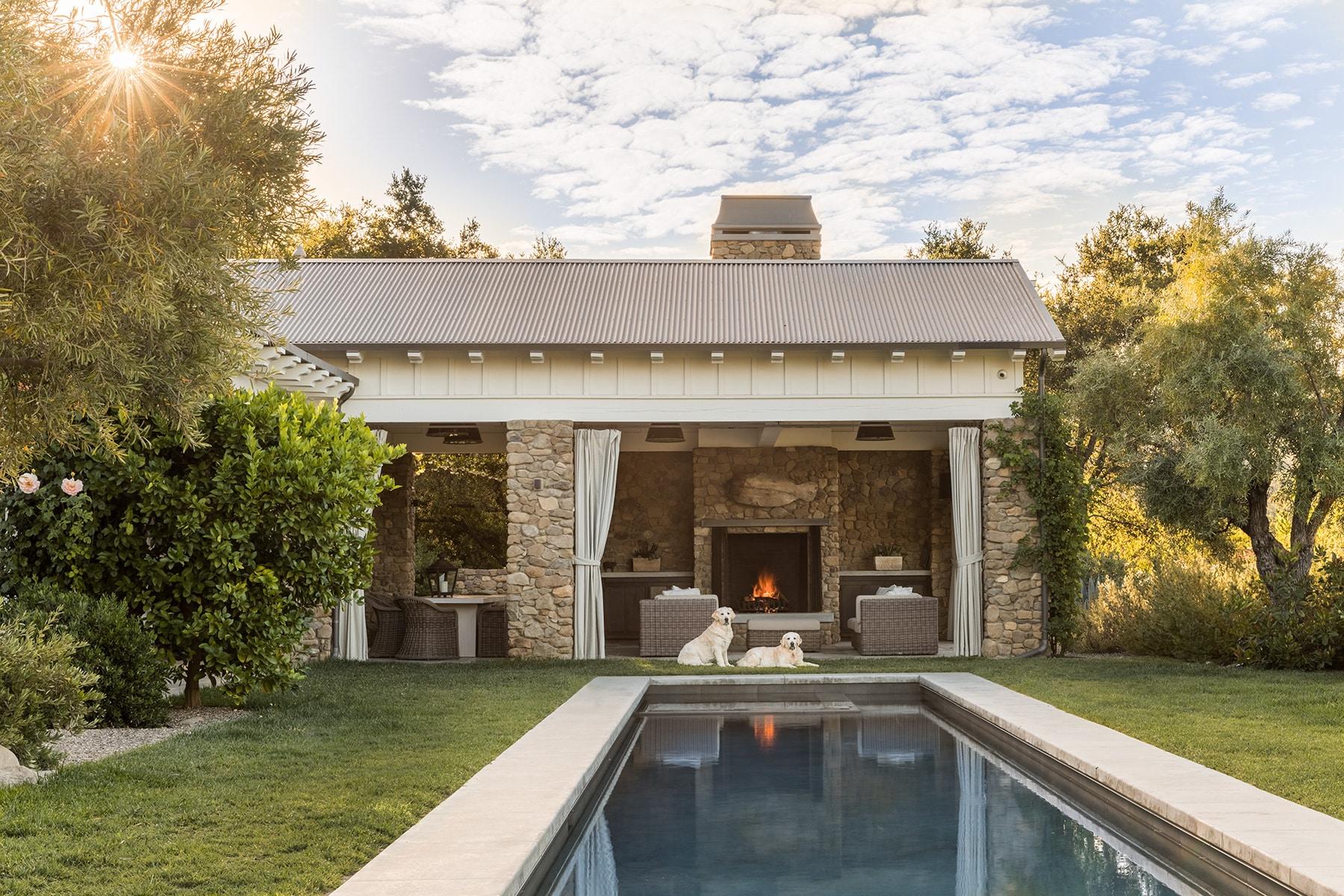 Ojai garden and pool by Scott Shrader