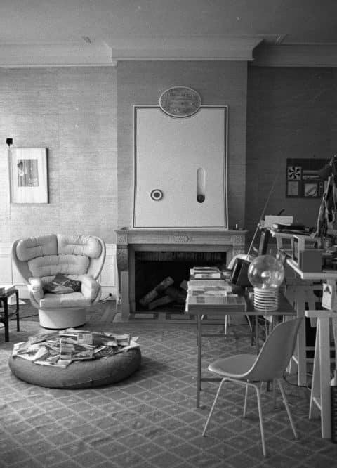 Karl Lagerfeld's apartment 1969