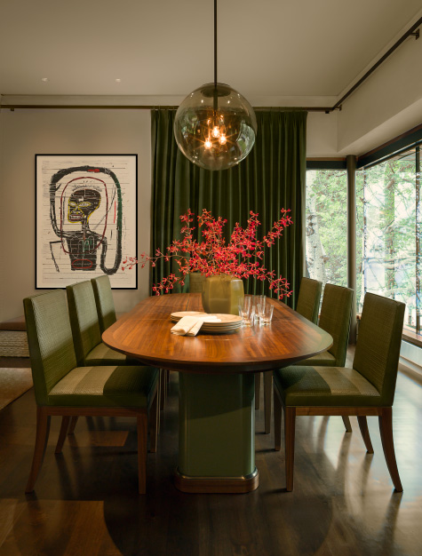 dining room by Clive Lonstein