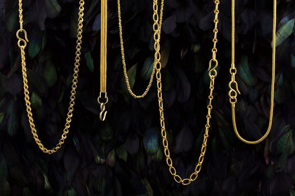 Loren Nicole 22-karat gold chains