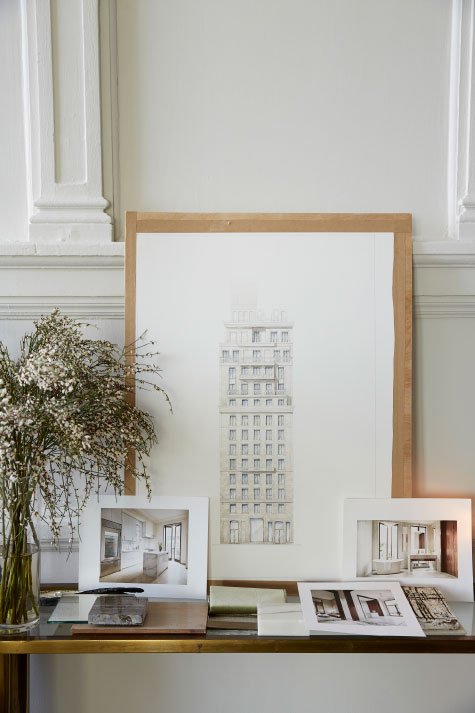 Clive Lonstein's studio