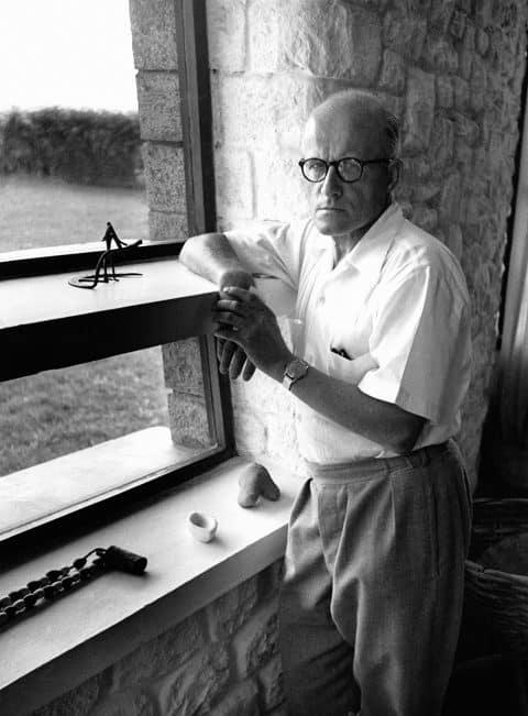 Pierre Jeanneret at Chandigarh in 1965