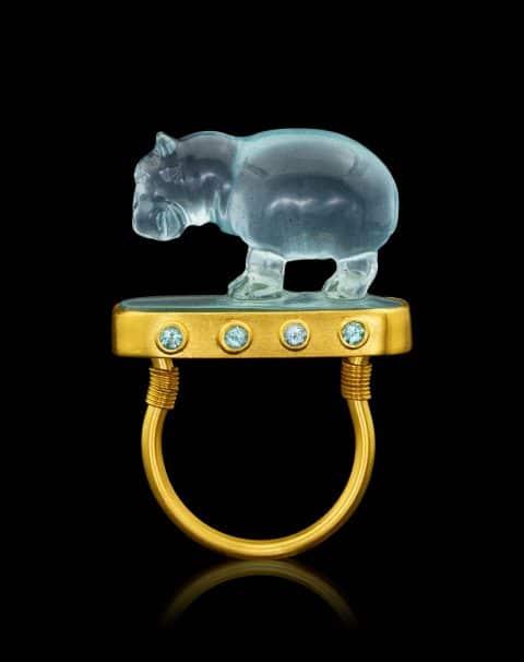 Loren Nicole amulet ring