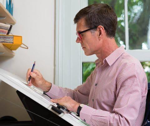 Hugh Leslie portrait