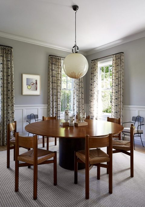 Sawyer Berson Interiors Dining Room