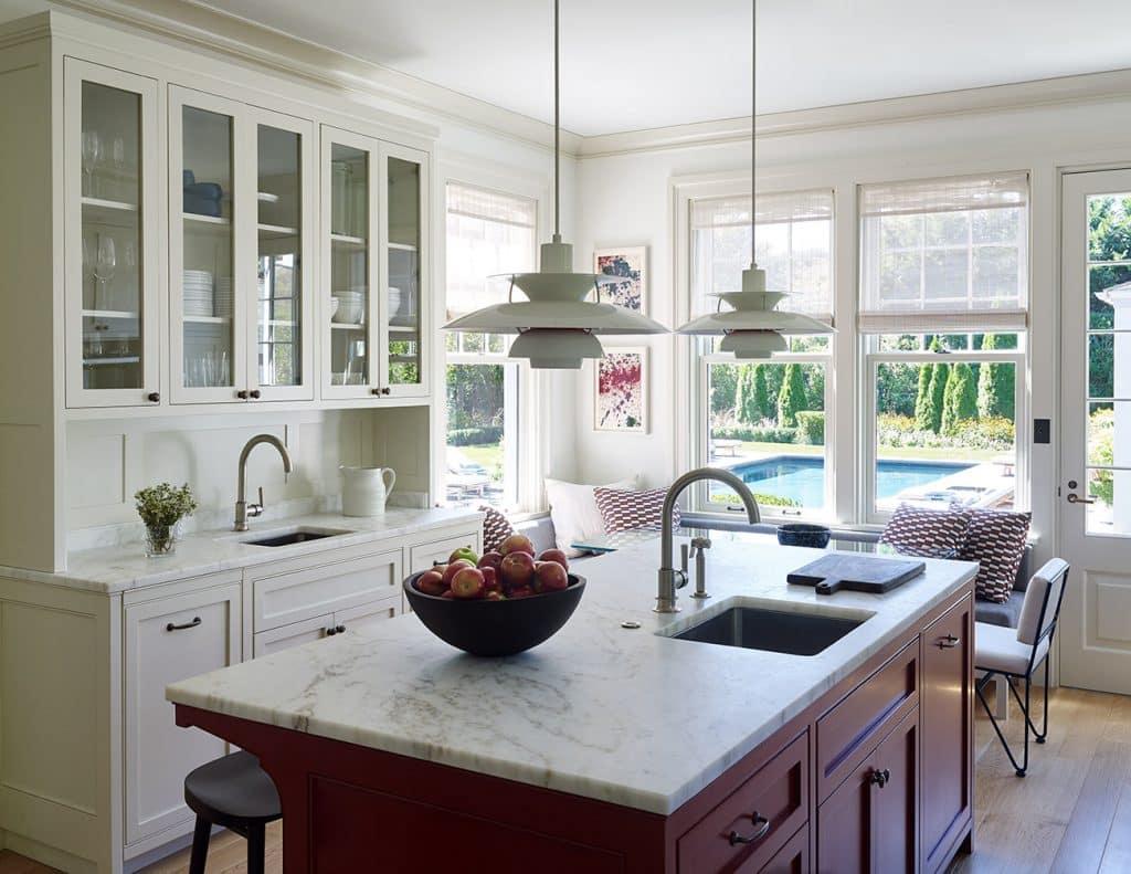 Sawyer Berson Interiors Kitchen