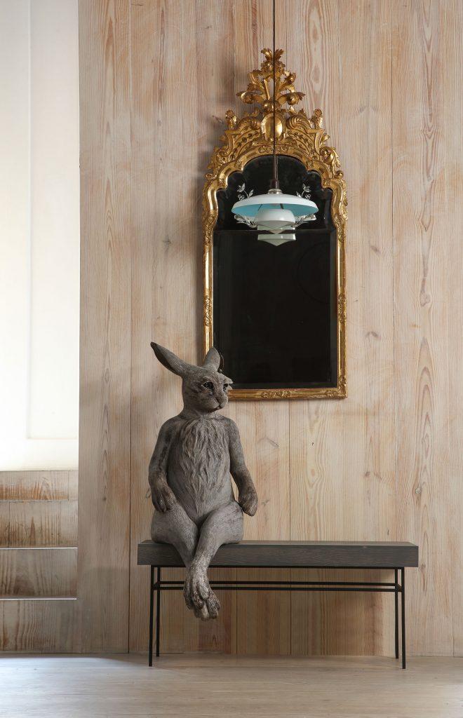 Margit Brundin's Sit Beside Me sculpture