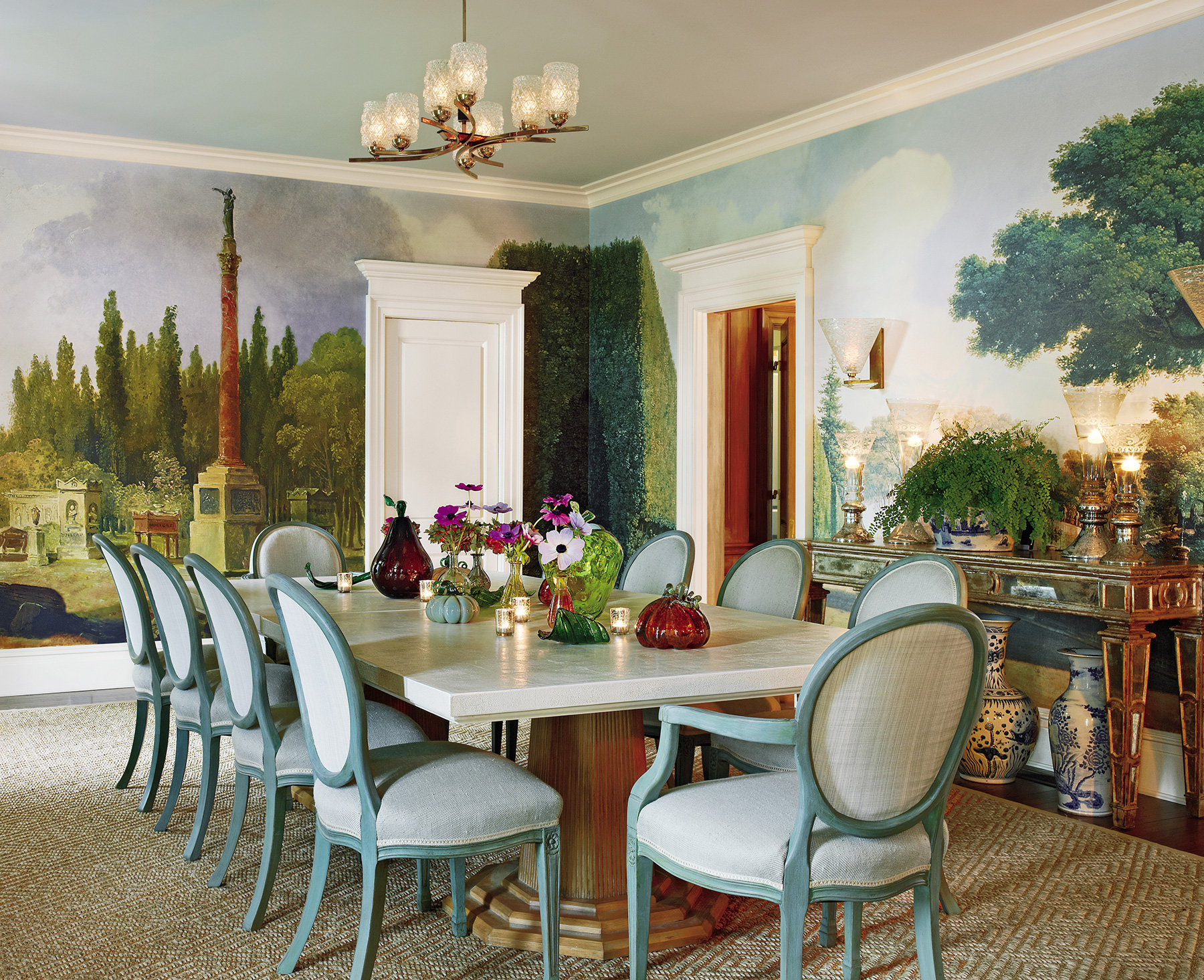 Bunny Williams Love Affairs with Houses Abrams country house dining room
