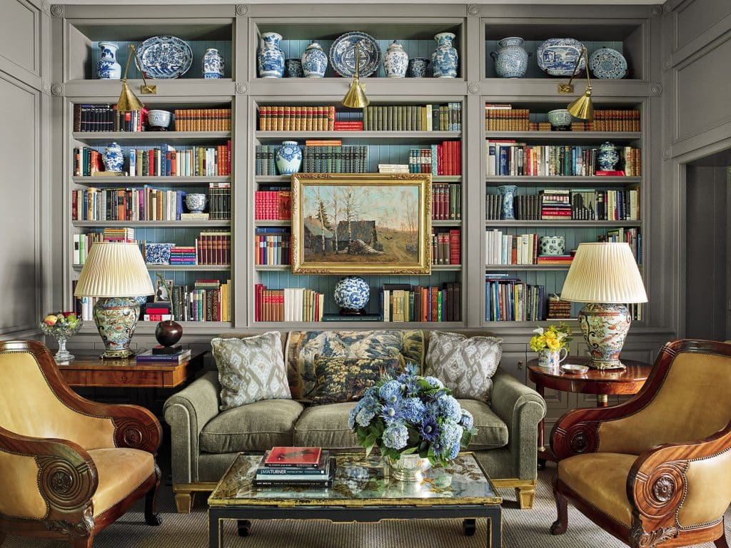 Bunny Williams Love Affairs with Houses Abrams Manhattan New York City East Side townhouse library