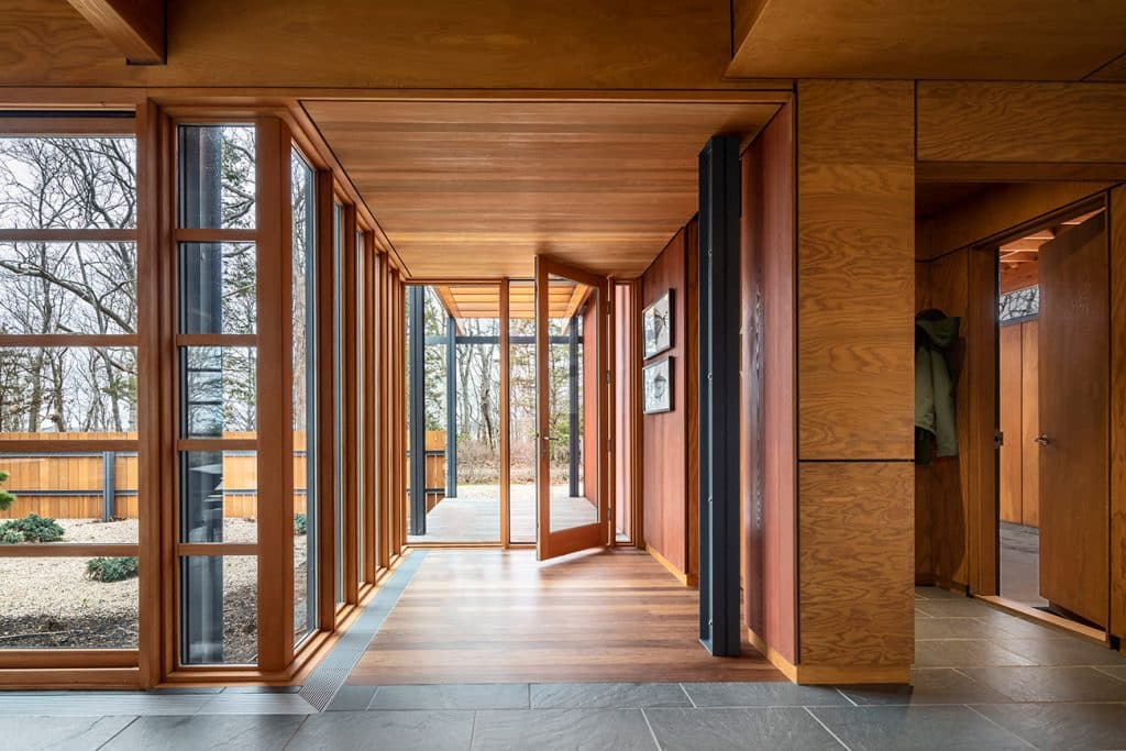 A Shelter Island home designed by Peter Bohlin and his firm BCJ