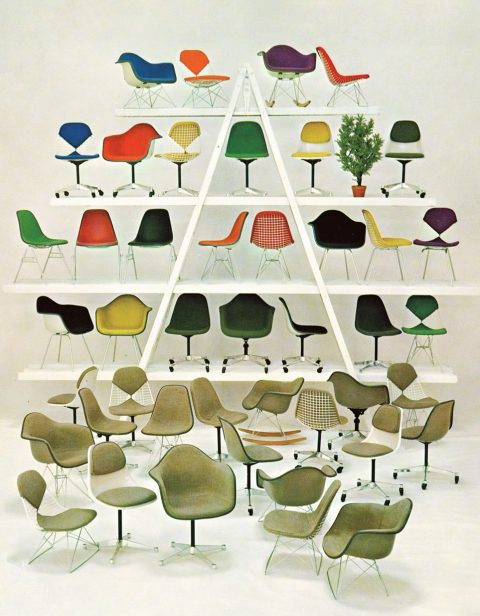 Vintage Herman Miller Catalog Advertisement